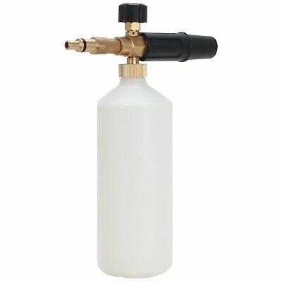 Heavy Duty Pressure Washer Snow Foam Lance With 1L Bottle For Nilfisk Kew Alto