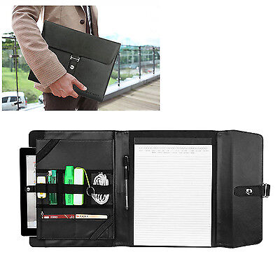 New Business Notepadtablet Portfolio Carry Case With Handles For 9.7tablet Pc