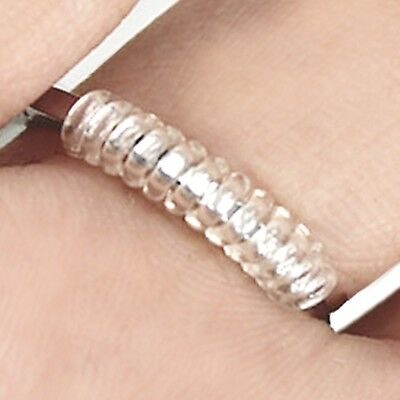 Clear Ring Sizers - New Adjustable - Get a PERSONALIZED FIT - You get 2 sizes!