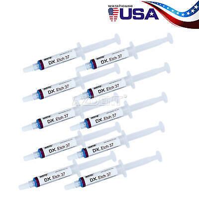 10packs Dentex Etchant Gel 37 Phosphoric Acid Etching Silica Gel 5 Mlsyringe