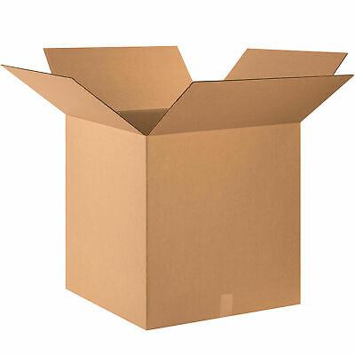 24 X 24 X 24 Cube Cardboard Corrugated Boxes 65 Lbs Capacity 200ect-32