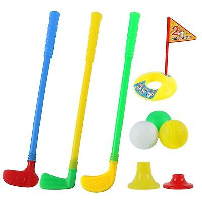 Plastic Golf Sets, willway Golf Clubs Educational Toys for Toddlers Kids Chil...