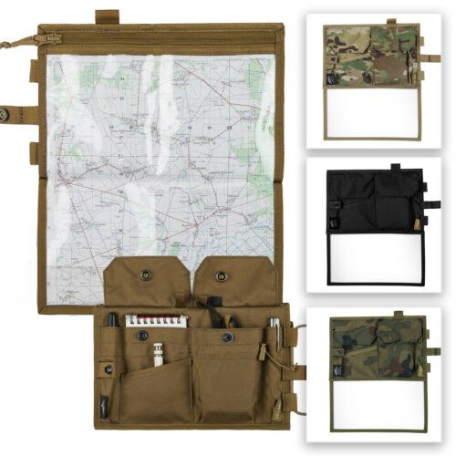 HELIKON TEX MAP CASE For Military Hiking Pouch Bag Reading Explorer Multicam