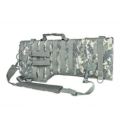 NcStar CVRSCB2919D ACU Rifle/Carbine Over Shoulder Modular MOLLE Gun Scabbard