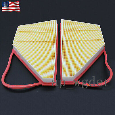 Air Filter set For Bentley GT GTC Flying Spur W12 Engine3W0129620B & 3W0129620C