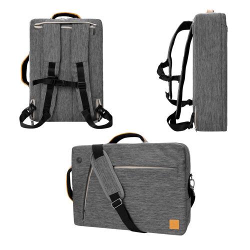 VanGoddy Gray 3 in 1 Backpack Messenger Bag for 13.3'' MacBo