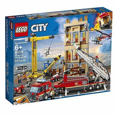 LEGO Downtown Fire Brigade Set (60216) - 943pcs - NEW