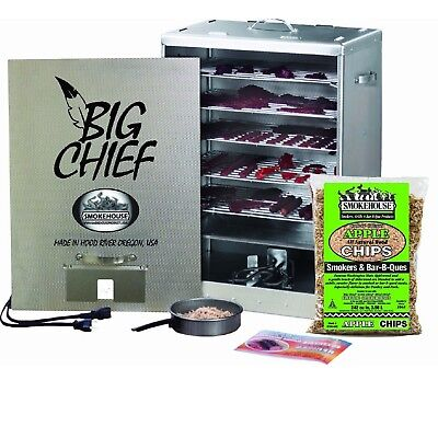 Smokehouse Products 9894-000-0GRN Green Big Chief Front Load