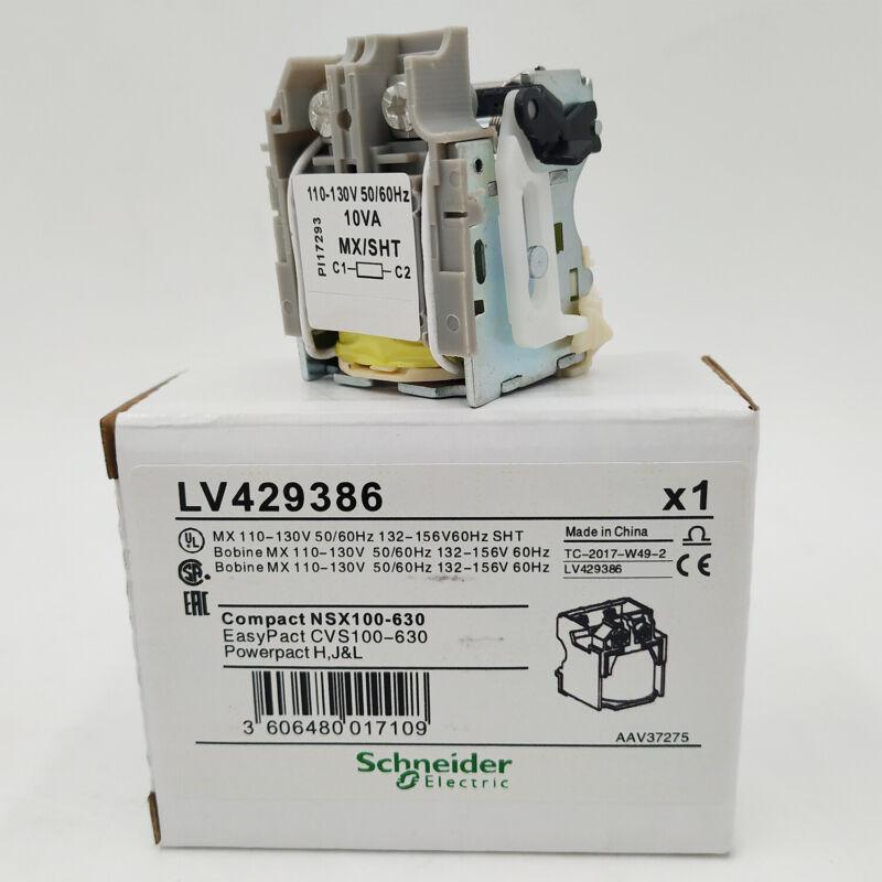 LV429386 MX shunt release ComPact NSX MCB Voltage trip coil 110-130V 50/60Hz
