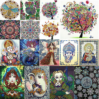 haped Diamond Painting 60 Pages A5 Notebook Art Diary Kits (Diamond Shaped)