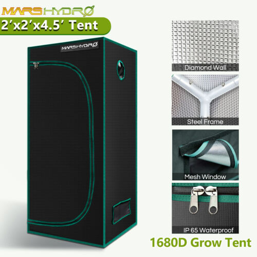 Mars Hydro Indoor Grow Tent 1680D Plants Mylar Room Reflective Home Box Window