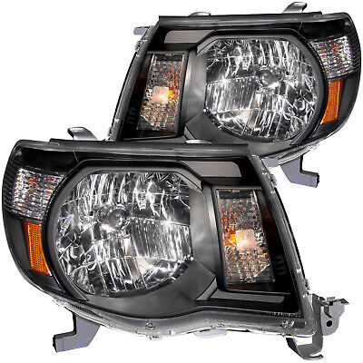 Headlight Front Left Driver & Right Passenger Side Fits 2005-2011 Toyota Tacoma