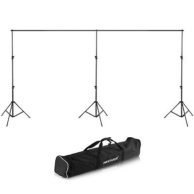 20*10ft Backdrop Support Stand with Detactable Crossbar with Case