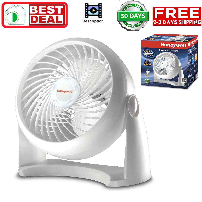 Honeywell Tabletop Air-Circulator Fan HT-904 White 11 inch N
