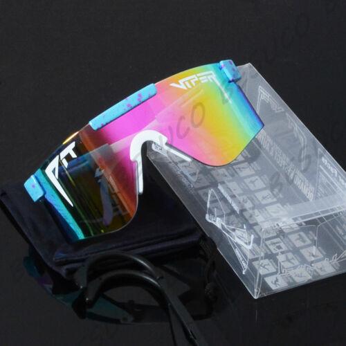 NEW Pit Viper Windproof Sunglasses TR90 Z87.1 Mirror Sport Goggles For Men/women