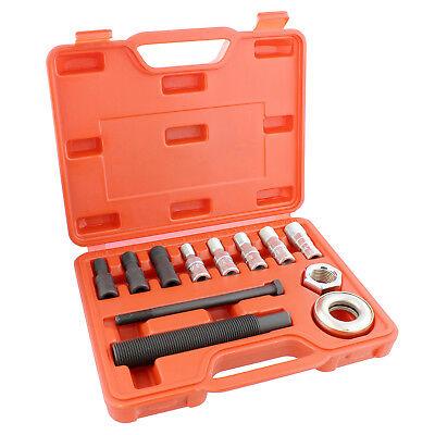 Harmonic Balancer Puller Kit - ABN | Harmonic Balancer Installer Kit – 12 Piece Harmonic Damper Puller Set