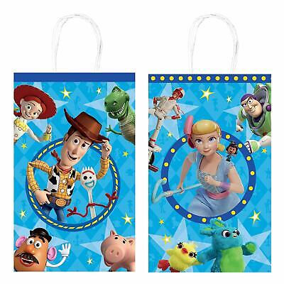 Toy Story 4- Party Kraft Favors Bags for Party Favor 8 pcs Gift Bags