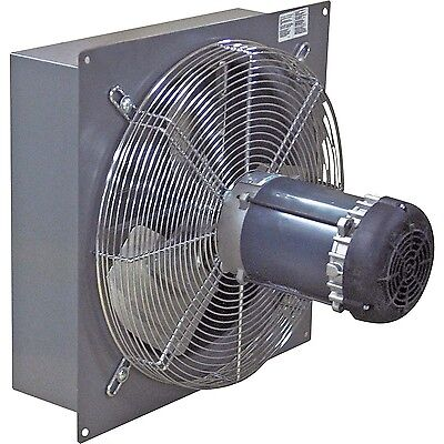 18 Exhaust Fan - 3200 Cfm - 13 Hp - 115 230 Volts - Explosion Proof Panel