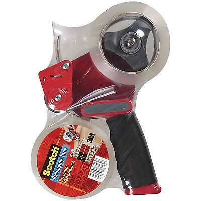 3m Scotch Tape Gun Dispenser W 2 Heavy Duty 3850 Shipping Packaging Rolls