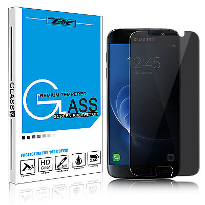 For Samsung Galaxy S7 Anti-Spy Sequestration Full Tempered Glass Screen Protector Film