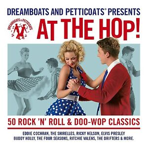 Dreamboats-And-Petticoats-At-The-Hop-2-CDs-FAST-DELIVERY
