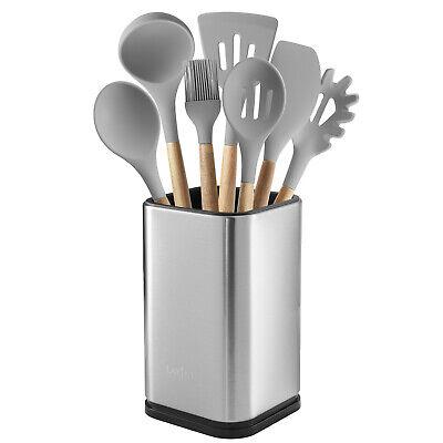 Stainless Steel Kitchen Utensil Holder, Kitchen Caddy, Utensil Organizer, Modern