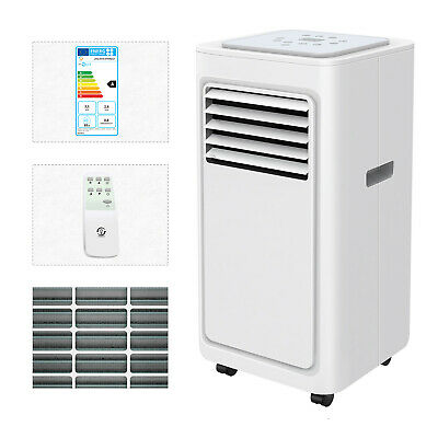 Portable 7,000 BTU Air Conditioner Unit Cooler Room Remote Control Conditioning