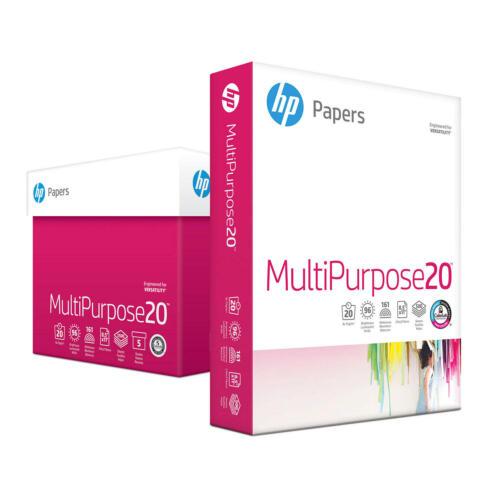 HP Multipurpose Copy Paper, 8.5x11, 96 Bright, 5 Ream