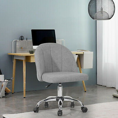 Low Back Office Chair Armless Swivel Desk Task Chair Adjustable Height Modern