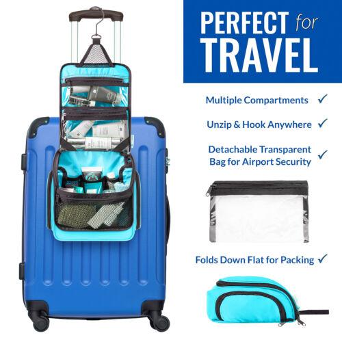 Premium Travel Hanging Toiletry Bag for Men and Women 3