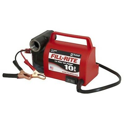 Fill-rite Fr1612 Portable Diesel Fuel Transfer Pump - 12 V Dc 10 Gpm 15 Hp...