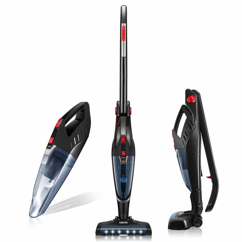 Deik Cordless 2 in 1 Vacuum Cleaner, 8000PA Lightweight Rech