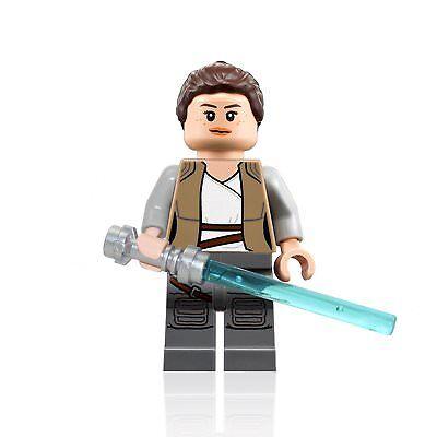 LEGO Star Wars The Last Jedi Ahch-To Island Rey Minifigure (75200)