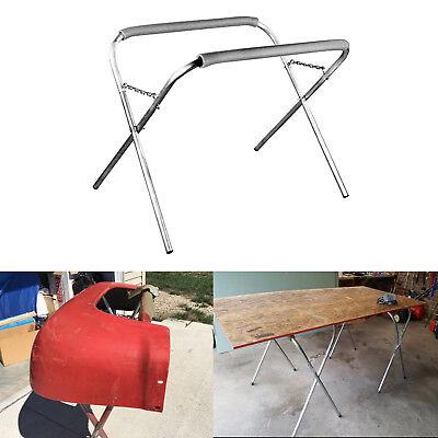 Portable Folding Work Stand 500LB Capacity Auto Bench Body Shop Tool Rack Holder