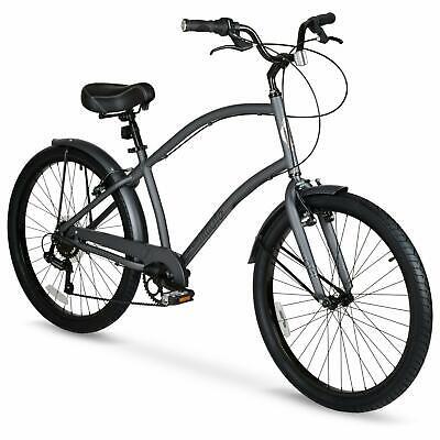 men s 26 commute comfort bike grey