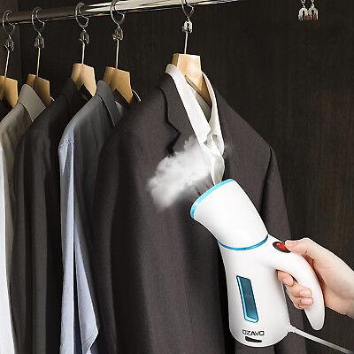 Dampfglätter Handdampf Dampfbürste Mini Steamer Reisebügeleisen Kleidungsdampfer