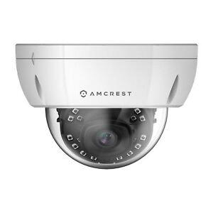 1851fd74e5f3 Amcrest UltraHD 4k (8mp) Outdoor Security Poe IP Camera 3840x2160 98ft
