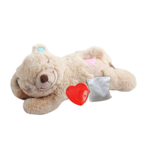 All for Paws Puppy Heart Beat Sleep Aid Plush Toy Warm Bear Toys for Dogs