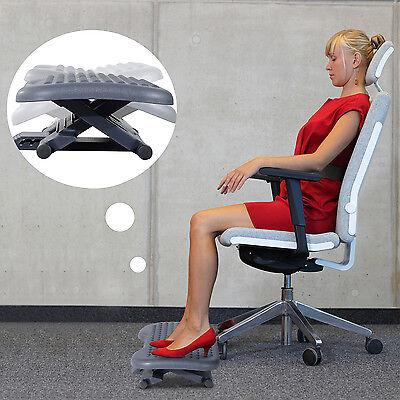 Ergonomisch Fußstütze Fußablage Fuß Stütze Relax Büro Neigung Höhe verstellbar