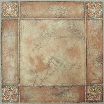 Self Adhesive Vinyl Tile (Vinyl Floor Tile Peel And Stick Self Adhesive Flooring Tiles Luxury 20 Pack)