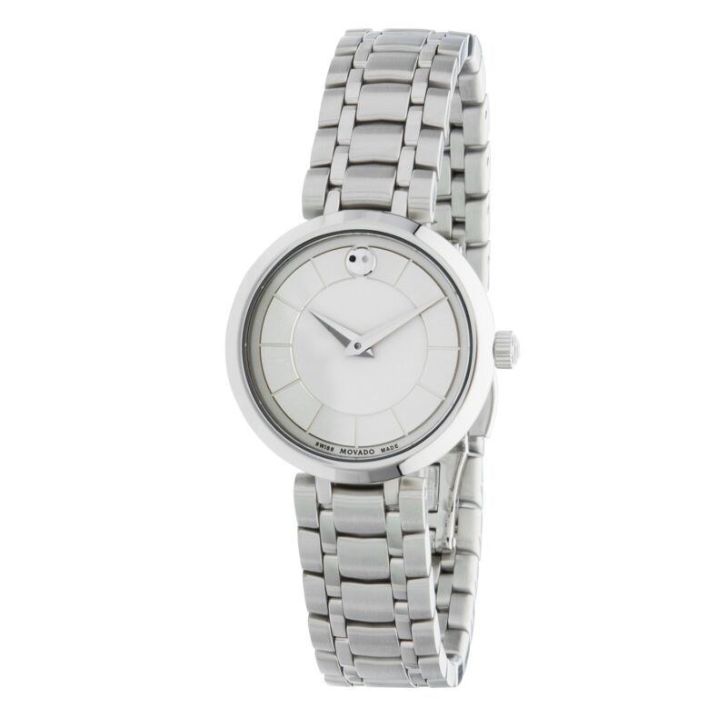 Movado 0607098 Women 1881 Silver Quartz Watch