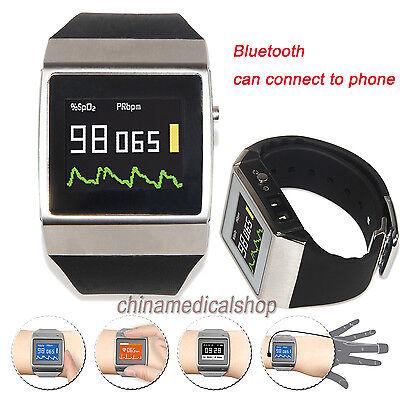 Cms50k Wearable Spo2ecg Pedometer Monitor Pulse Oximeter 24 Hour Record Oled Us