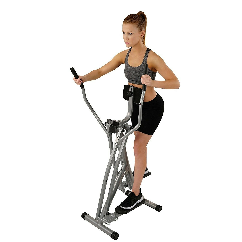Sunny Health Fitness SF-E902 Air Walk Trainer Elliptical Mac
