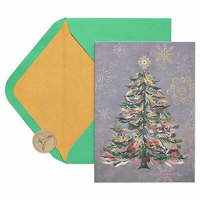 Papyrus Christmas Cards Boxed, Festive Holiday Tree (14-Count) ()