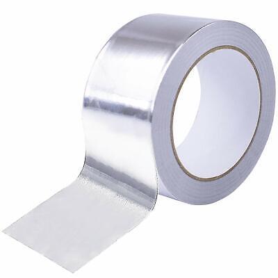 Aluminum Foil Tape 40mmx50m Reinforced Fiberglass Heat Shield Fireproof