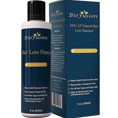 Biofusion BEST Hair Loss Shampoo - Regrows Hair Reduce Hair Fall DHT