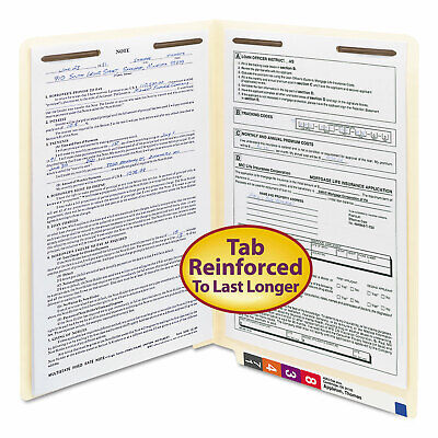 Smead Manila Folders Two Fasteners End Tab Legal 11pt Manila 50box 37115