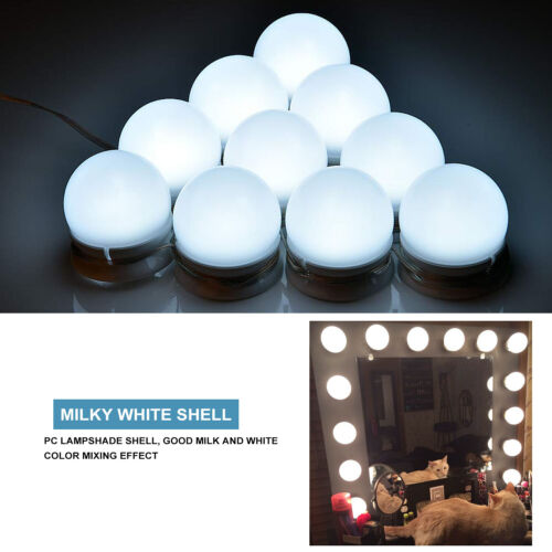 Large Hollywood Lighted Vanity Makeup Mirror with Light Dimm