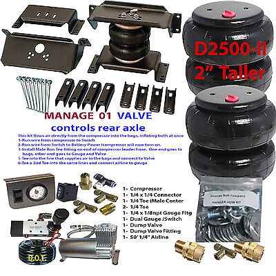 Towing Air Kit Compressor Dodge Ram 3500  All in Picture  1994 2002