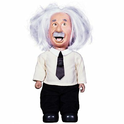 Professor Einstein Robot Talks Science   Plays Brain Games  Be As Smart As Albe